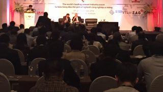 Long Son cement conference attendees Intercem Asia
