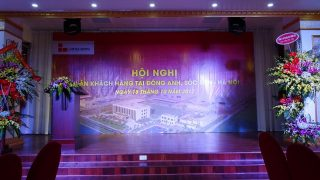 CUSTOMERS CONFERENCE IN DONG ANH, SOC SON – HANOI.