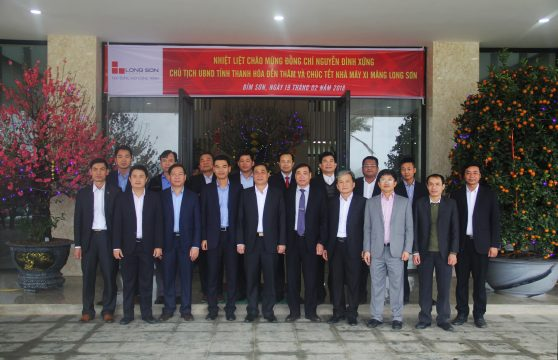 Chairman of Thanh Hoa province attended the new year ceremony of
