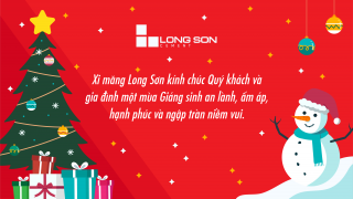 Long Son Cement Plant – Merry Christmas and Happy New Year 2021.