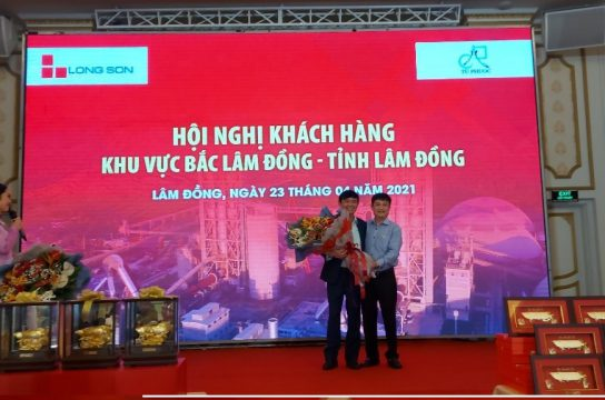 Customer Conference of Long Son Cement in North Lam Dong area – Lam Dong province