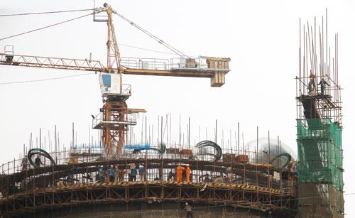 Khẩn trương thi công xây dựng Dây chuyền 2 – Nhà máy Xi măng Long Sơn