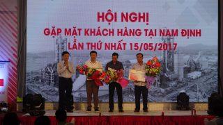 Hội nghị Khách hàng Nhà máy Xi măng Long Sơn tại Nam Định LẦN THỨ NHẤT 15/05/2017