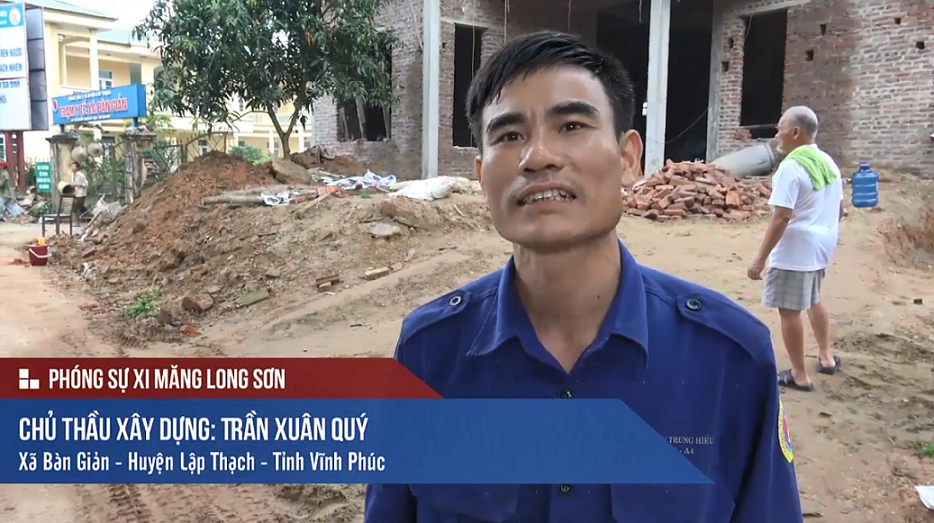 Phóng sự: Công trình sử dụng Xi măng Long Sơn tại Vĩnh Phúc 27/04/2017