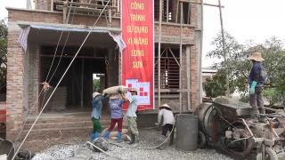 Phóng sự: Công trình sử dụng Xi măng Long Sơn tại Thái Bình 26/04/2017