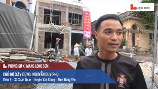 Phóng sự: Công trình sử dụng Xi măng Long Sơn tại Hưng Yên 17/05/2017