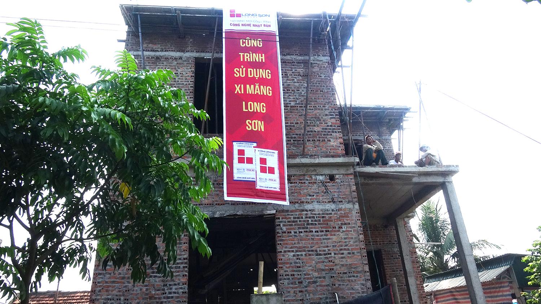 Phóng sự: Công trình sử dụng Xi măng Long Sơn tại Ninh Bình 29/05/2017