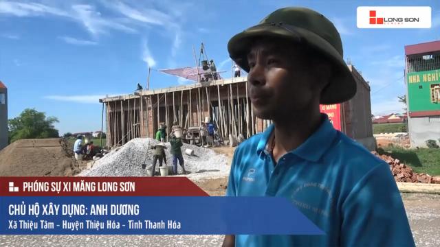 Phóng sự: Công trình sử dụng Xi măng Long Sơn tại Thiệu Hóa, Thanh Hóa 15/06/2017