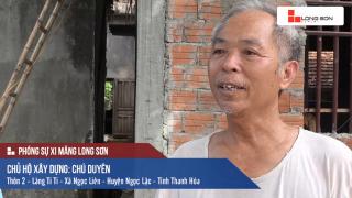 Phóng sự: Công trình sử dụng Xi măng Long Sơn tại Ngọc Lặc, Thanh Hóa 12/06/2017