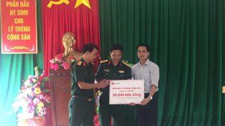 Nhà máy Xi măng Long Sơn tới dâng hương tại nghĩa trang liệt sĩ Đảo Mê, Tĩnh Gia, Thanh Hóa 24/07/2017
