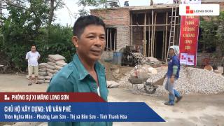 Phóng sự: Công trình sử dụng Xi măng Long Sơn tại Bỉm Sơn, Thanh Hóa 29/06/2017