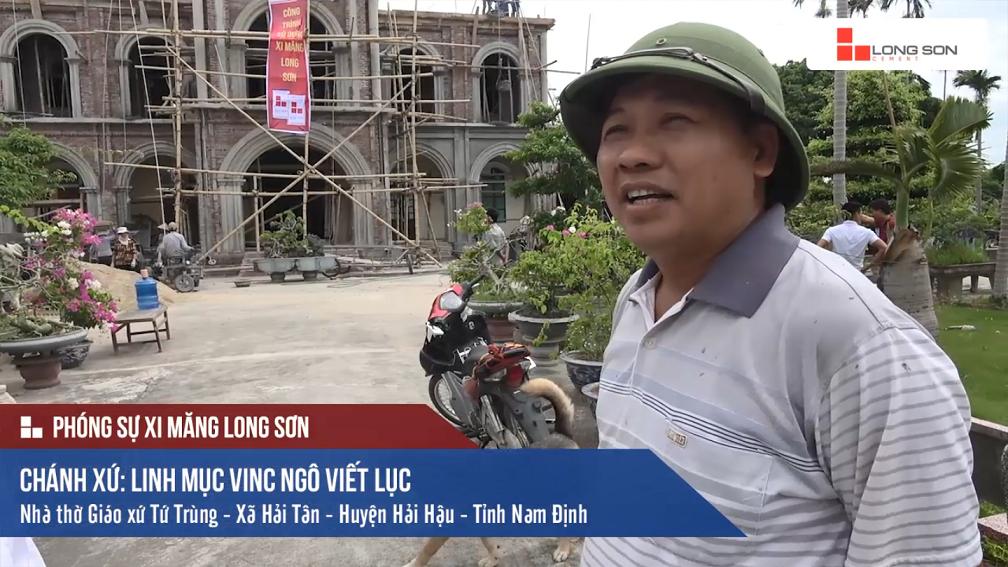Phóng sự: Công trình Nhà thờ giáo xứ Tứ Trùng tại Nam Định 01/07/2017