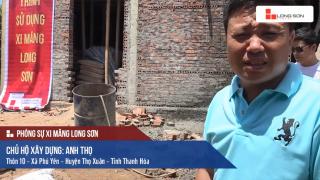 Phóng sự: Công trình sử dụng Xi măng Long Sơn tại Thọ Xuân, Thanh Hóa 25/06/2017