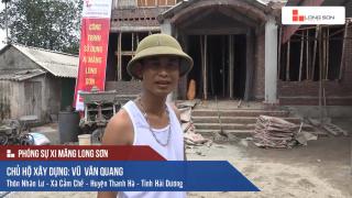 Phóng sự: Công trình sử dụng Xi măng Long Sơn tại Hải Dương 02/07/2017