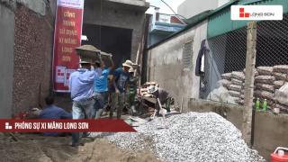 Phóng sự: Công trình sử dụng Xi măng Long Sơn tại Hải Dương 13/07/2017