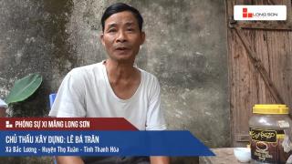 Phóng sự: Công trình sử dụng Xi măng Long Sơn tại Thanh Hóa 25/07/2017