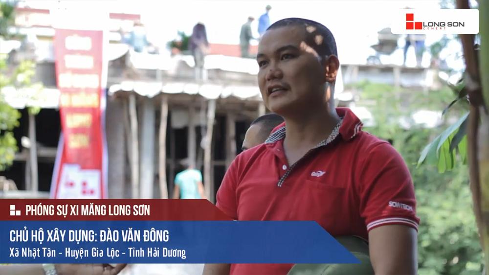 Phóng sự: Công trình sử dụng Xi măng Long Sơn tại Hải Dương 06/08/2017