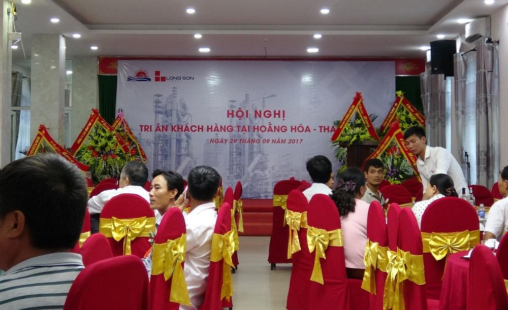 Hội nghị tri ân khách hàng tại Hoằng Hóa – Thanh Hóa ngày 29/09/2017.