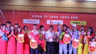 """""""Ngày hội Long Sơn"""" Kỉ niệm 16 năm thành lập Công ty TNHH Long Sơn."""