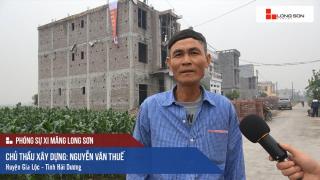 Công trình sử dụng Xi măng Long Sơn để đổ mái, dầm, cột tại Hải Dương 29.11.2017