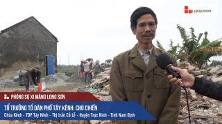 Công trình nhà chùa sử dụng Xi măng Long Sơn để đổ móng, đổ mái tại Nam Định 03.01.2018