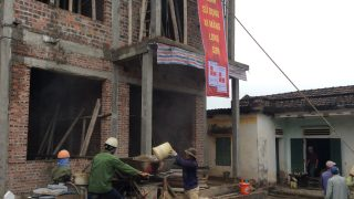 Công trình sử dụng Xi măng Long Sơn để đổ móng, đổ mái tại Thanh Hóa 05.01.2018