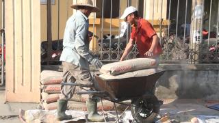 Công trình sử dụng Xi măng Long Sơn để đổ móng, đổ mái tại Hà Tĩnh 09.01.2018