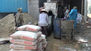 Công trình sử dụng Xi măng Long Sơn để đổ móng, đổ mái tại Hà Tĩnh 12.01.2018