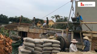 Công trình sử dụng Xi măng Long Sơn để đổ móng, đổ mái tại Thanh Hóa 10.01.2018