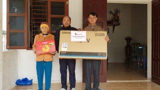 """Xi măng Long Sơn – Trao giải đặc biệt chương trình """" Tết đến xuân sang, ngập tràn quà tặng Đợt 1""""."""