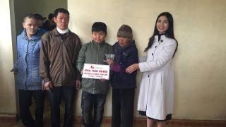 Xi măng Long Sơn – Trao tặng Nhà tình nghĩa – Chia sẻ mùa xuân ấm áp với mảnh đời bất hạnh.
