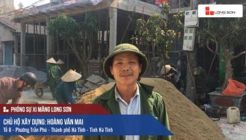 Phóng sự công trình sử dụng Xi măng Long Sơn tại Hà Tĩnh 22.03.2018