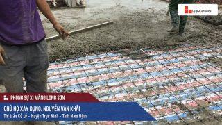Phóng sự công trình sử dụng Xi măng Long Sơn tại Nam Định 24.04.2018