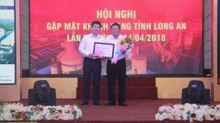 Hội nghị gặp mặt Khách hàng tỉnh Long An lần thứ Nhất 14.04.2018.