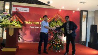 Hội nghị Nhà Thầu xây dựng tại Ý Yên – Vụ Bản – Nam Định ngày 19.04.2018