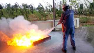 Công ty Xi măng Long Sơn – Tổ chức đào tạo Phòng cháy chữa cháy.