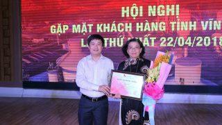 Hội nghị gặp mặt Khách hàng tỉnh Vĩnh Long lần thứ nhất 22.04.2018.