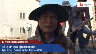 Phóng sự công trình sử dụng Xi măng Long Sơn tại Hà Tĩnh 20.05.2018