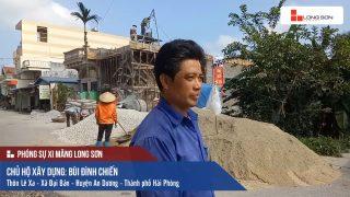 Phóng sự công trình sử dụng Xi măng Long Sơn tại Hải Phòng ngày 15.05.2018