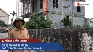Phóng sự công trình sử dụng Xi măng Long Sơn tại Nghệ An 13.05.2018