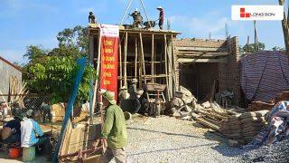 Phóng sự công trình sử dụng Xi măng Long Sơn tại Thanh Hóa ngày 16.05.2018