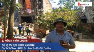 Phóng sự công trình sử dụng Xi măng Long Sơn tại Thanh Hóa 18.05.2018