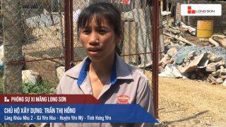 Phóng sự công trình sử dụng Xi măng Long Sơn tại Hưng Yên 17.05.2018