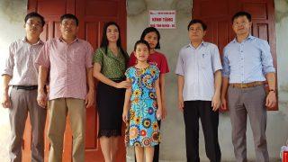 Công ty Xi măng Long Sơn – Trao tặng nhà tình nghĩa cho Gia đình có hoàn cảnh đặc biệt khó khăn.