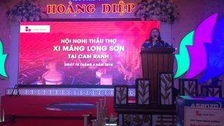 Xi măng Long Sơn – Tổ chức chuỗi Hội nghị Nhà thầu xây dựng Tháng 4.