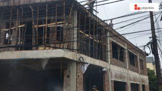 Phóng sự công trình sử dụng Xi măng Long Sơn tại Hà Nội 14.06.2018