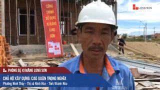 Phóng sự công trình đổ mái, dầm, cột sử dụng Xi măng Long Sơn tại Khánh Hoà 17.06.2018