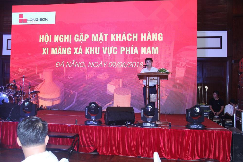 Công ty Xi măng Long Sơn – Tổ chức hội nghị gặp mặt Khách hàng Xi măng Xá.