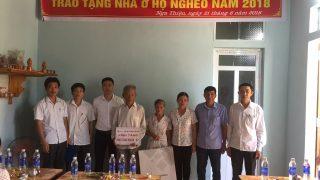 Công ty Xi măng Long Sơn – Trao tặng nhà tình nghĩa tại Thanh Hóa.