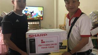 """Xi măng Long Sơn – Trao thưởng chương trình quay số """" Tờ rơi cầm tay, nhận ngay quà tặng"""" Đợt II."""